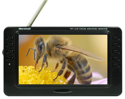 Picture of V-LCD70-ATSC 7' Portable  LCD Monitor with ATSC & QAM tuner. Works in NTSC ONLY