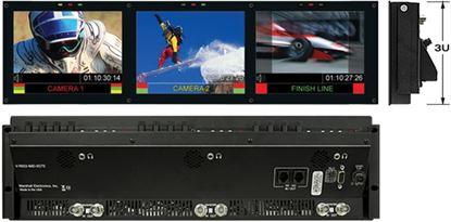 Image de V-R653-IMD-TE Triple 6.5' HD Rack Mountable LCD with built in IMD Function